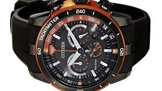 Citizen Eco Drive Men's Ecosphere Analog Display Black Watch