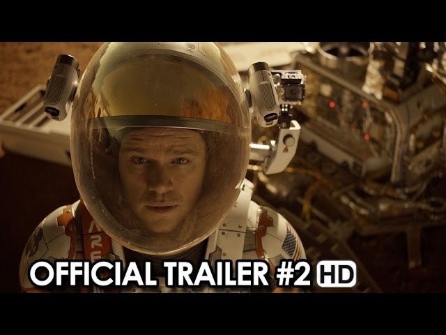 THE MARTIAN ft. Matt Damon Official Trailer #2 (2015) HD