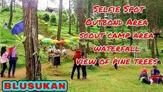 Wana Wisata Jurang Senggani Lereng Gunung Wilis Tulungagung Jawa Timur