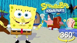 Spongebob Squarepants! - 360° Where's Gary? - (The First 3D VR Game Experience!)