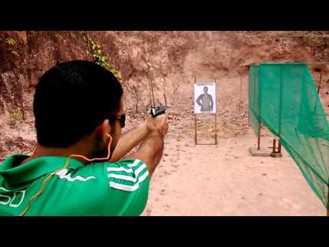Disparos feitos com Imbel .40 e taurus .40