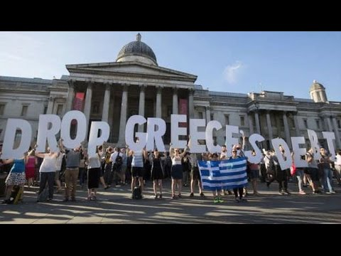 Protests Erupt Outside of Greek Parliament as It Approves Harsh Austerity Measures in Bailout Deal