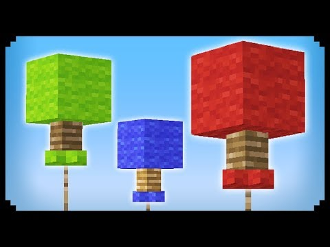 ✔ Minecraft: How to make Balloons
