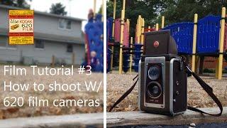 Film Tutorial #3 how to shoot with a Kodak 620 camera