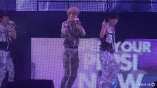 130908 Pepsi Concert - Nothing's over Sungjong focus