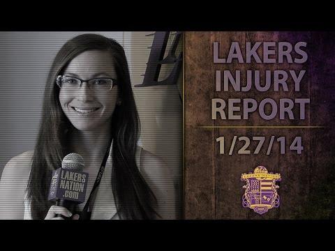 Lakers Injury Report: Steve Blake, Kobe Bryant, Jordan Farmar, Xavier Henry, Steve Nash, Jodie Meeks