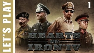 Hearts of Iron IV Germany Wins World War 2 Let's Play 1