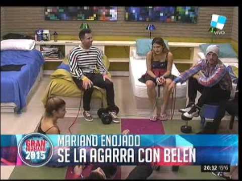 #GH2015: La furia de Mariano con Belén