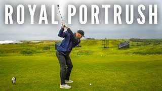 Can Brodie Break 75 at the OPEN Championship | Royal Portrush Part 1