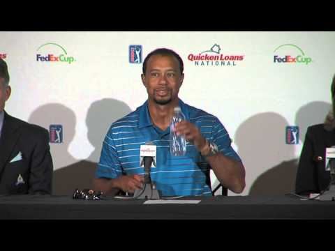 2014 Quicken Loans National PGA Tournament Press Conference with Tiger Woods