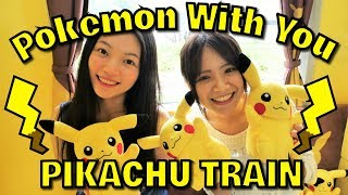 Ride the Pokemon With You Train, PIKACHU VERSION