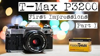 Kodak T-Max P3200: First Impressions (Part 1) | Night Photography + Canon AE-1 Program