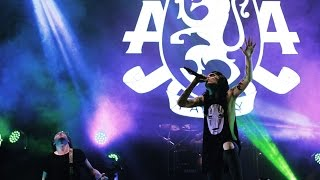 Asking Alexandria - Closure Live in Hammersonic Jakarta (get down and jump)