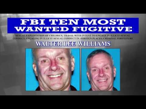 CAPTURED: Walter Lee Williams on FBI Ten Most Wanted Fugitives List
