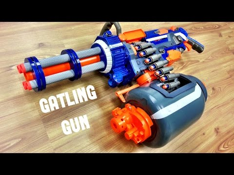 COMMUNITY Nerf GATLING GUN  Nerf Vulcan Mod by Darryl C