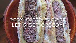 DEEP FRIED Hungarian BURGER Recipe on Let