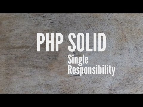 SOLID: Single Responsibility (Part 1/5)