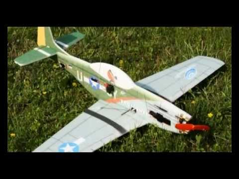 TechOne P-51 Warbird - 4-Ch Aerobatic EPP Foam Plane with Brushless Motor