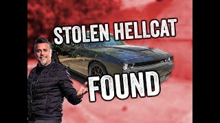 Richard Rawlings' Stolen Hellcat RECOVERED!