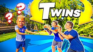 2HYPE NBA BASKETBALL CHALLENGE VS. IDENTICAL TWINS !!