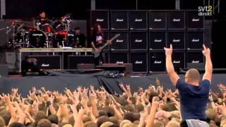 The Big 4 - Slayer - Angel Of Death Live Sweden July 3 2011 HD