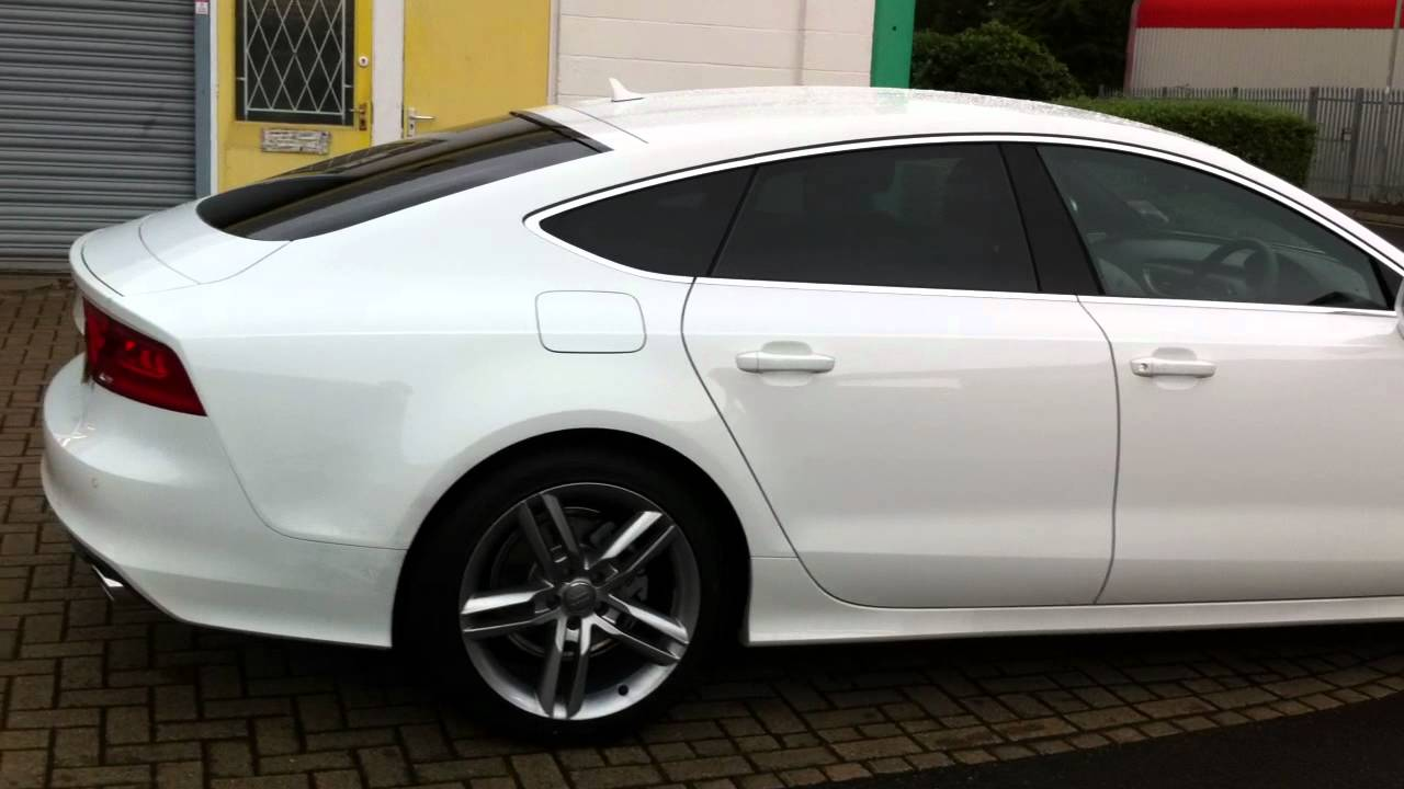 Audi A7 With Medium Tints Youtube