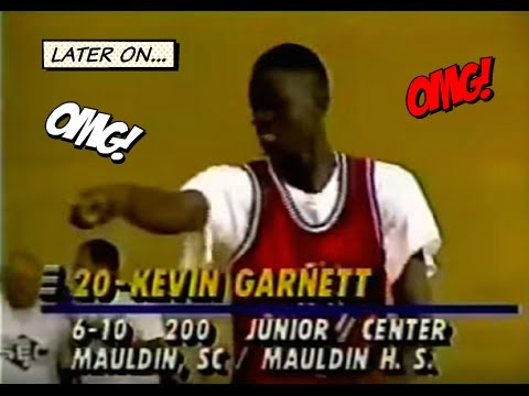 Allen Iverson Vs Kevin Garnett In HIGH SCHOOL Highlights