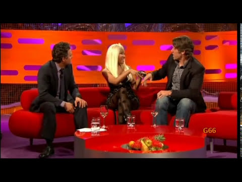 Nicki Minaj on The Graham Norton Show (20th April 2012) - Original