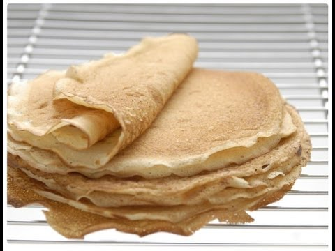 Como hacer Masa para Panqueques o Crepas dulces y salados?