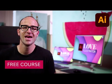Adobe Illustrator for Beginners | FREE COURSE