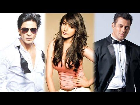 Shahrukh Khan And Anushka Sharma Top The Times Celebex - March 2015