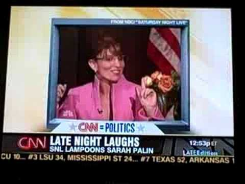 Sarah Palin vs Tina Fae as Sarah Palin