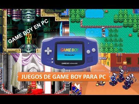 TODOS LOS JUEGOS DE GAME BOY PARA PC, TABLET Y CELULAR