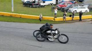 Sons of Speed Antique Motorcycle Boardtrack Race Final 2017