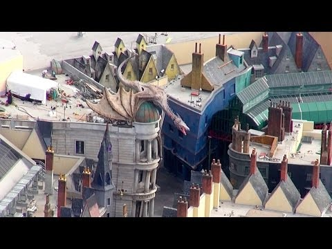 Diagon Alley Helicopter Tour The Wizarding World of Harry Potter Universal Orlando Resort