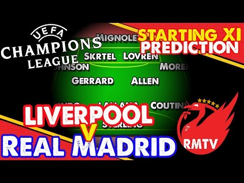 Liverpool v Real Madrid | Starting Eleven Prediction Show | Reds News Update