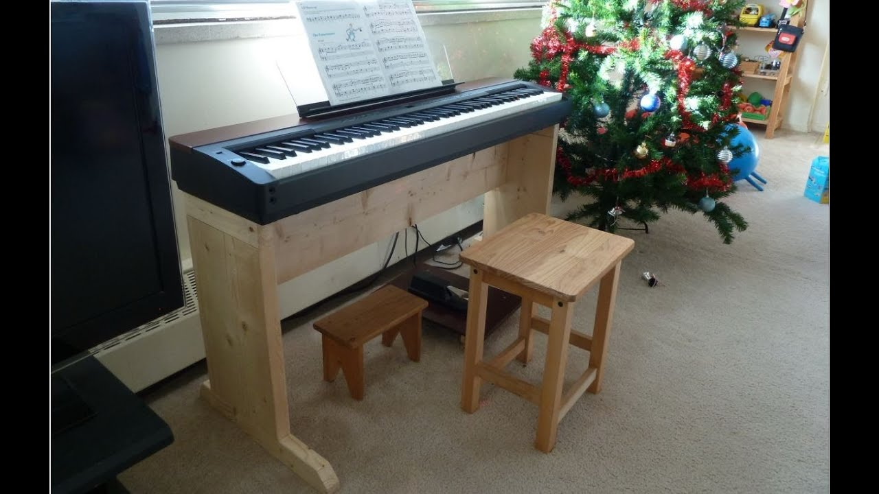 Homemade Digital Piano Stand  . Full resolution‎  snapshot, nominally Width 1259 Height 797 pixels, snapshot with #604933.