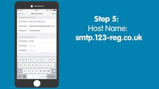 How to set up email on an iPhone | 123-reg Support