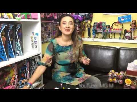 [#5.Шоколадные Яйца] Monster High Распаковываем шоколадные яйца с сюрпризами! + Конкурс ★MGM★