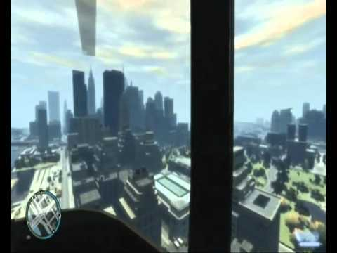 экскурсия по небу в GTA 4
