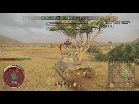 World of Tanks Xbox one AMX M4 mle. 45 4 Kills