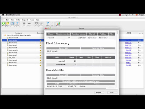 Practica 6B. Identificación de formatos de ficheros