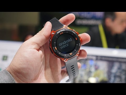 Casio WSD-F20 Hands-On: Finally the real deal
