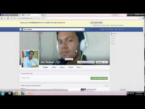 Facebook ID Creation in Hindi Urdu