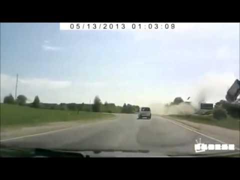 Uno de lo accidentes automovilísticos más dramáticos registrados en camara