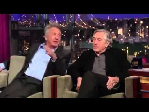 Robert De Niro & Dustin Hoffman on David Letterman Full Interview