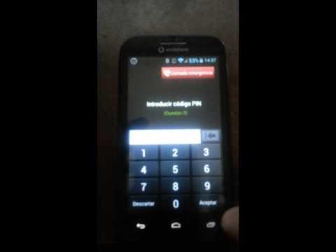 ¿Cómo liberar un teléfono Alcatel V975 aka Vodafone Smart III by code ?