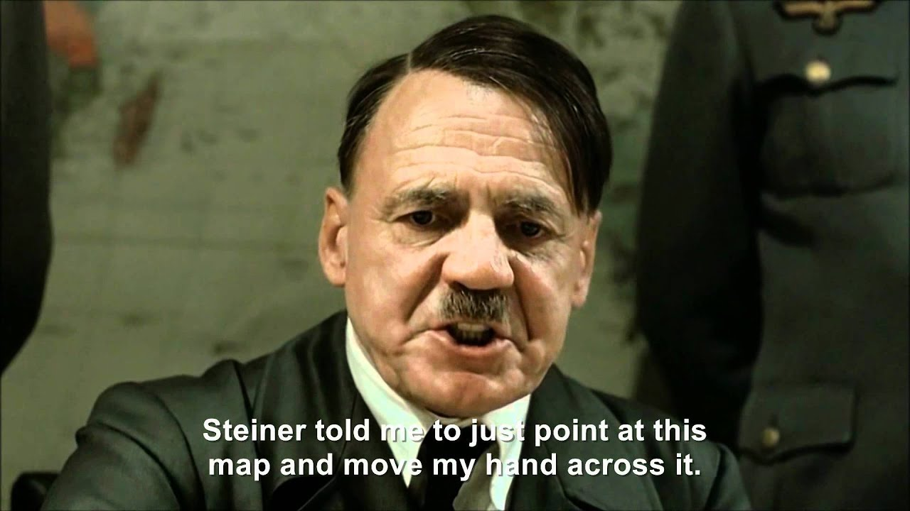 Hitler plans to point at maps