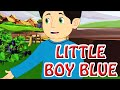Little Boy Blue   Kids' Songs   Animation English Rhymes For Children