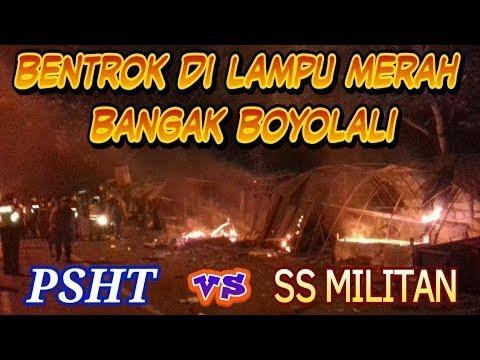 Tragedi PSHT VS SS Militan Boyolali Mencekam Video Full Adegan